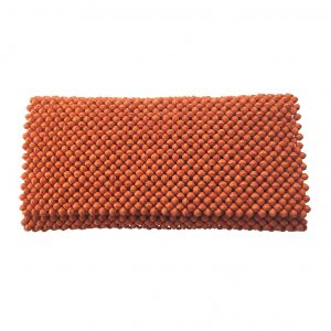 Paperbeeds Clutch /håndveske – Bright Orange