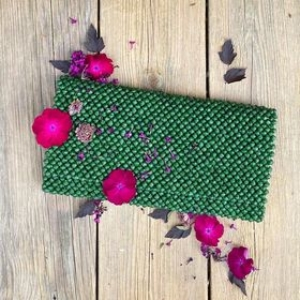 Clutch veske – Dark Green