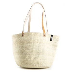 Mifuko Sisal shopper- Natural medium
